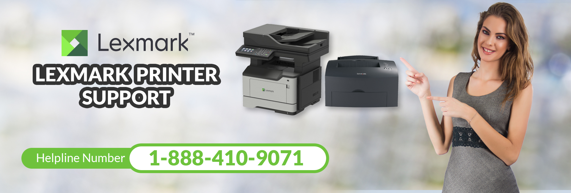 LEXMARK Printer Support 1-888-410-9071