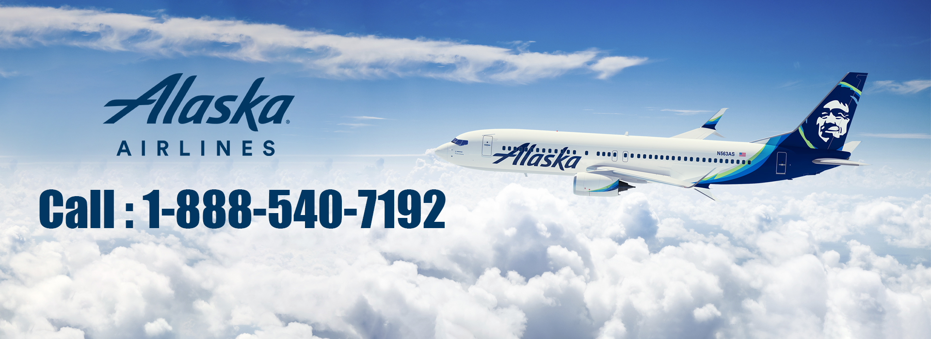 Alaska Airline Phone Number 1-888-540-7192