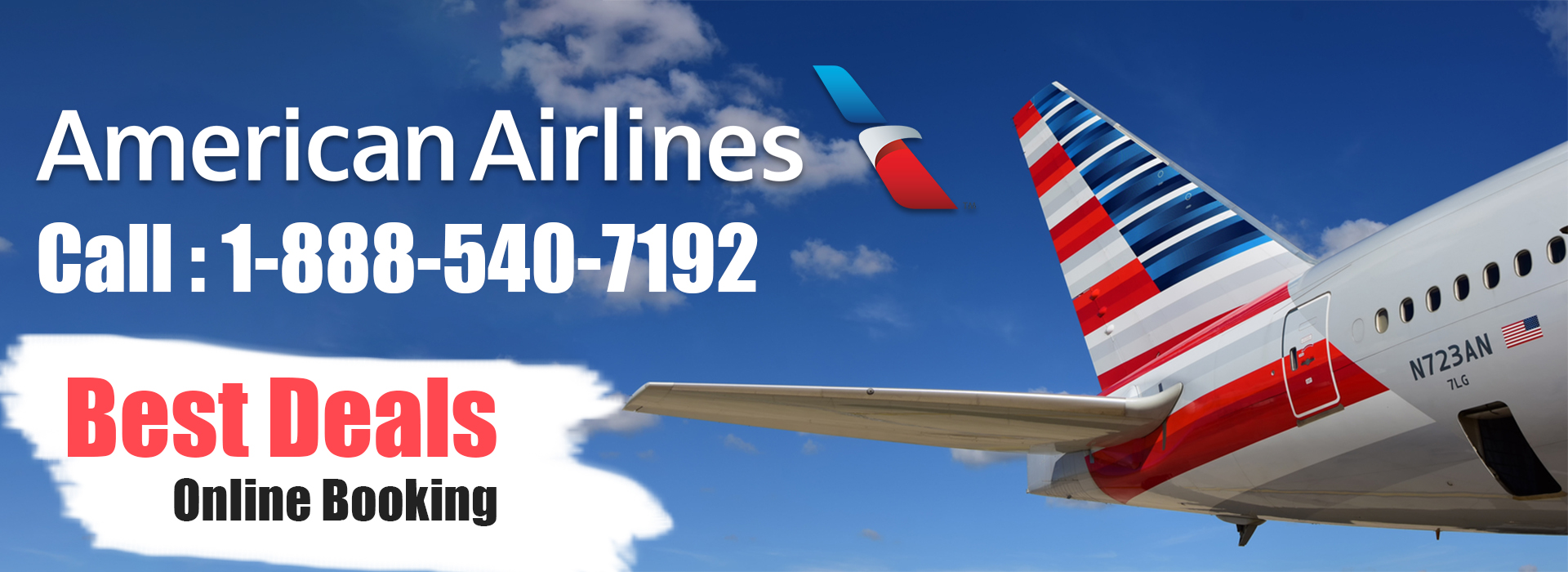 American Airline Phone Number 1-888-540-7192