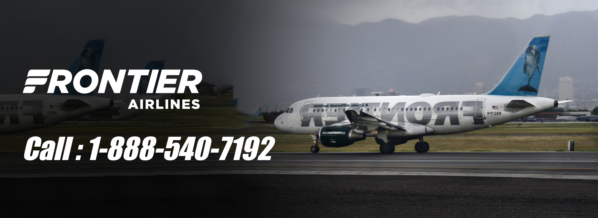 FRONTIER Airline Phone Number 1-888-540-7192