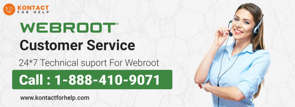 Webroot Customer Service 1-888-410-9071| Helpline Number