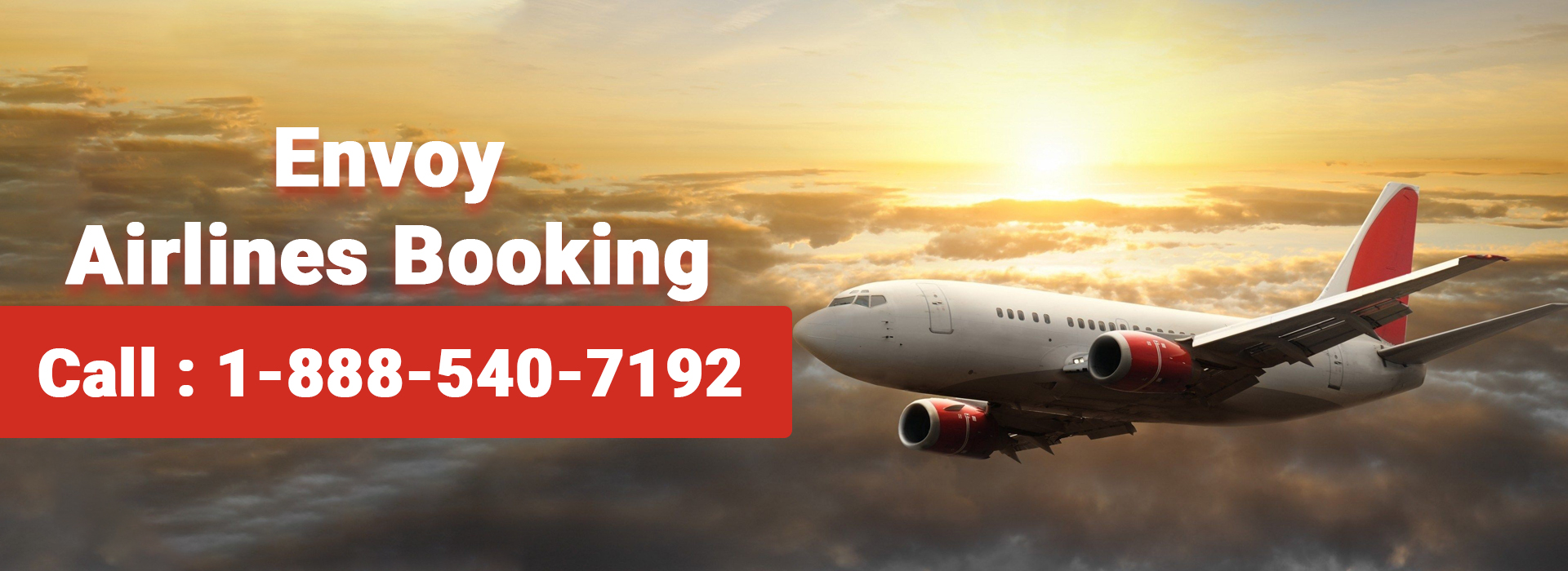 Envoy Airlines Booking 1-888-410-7192