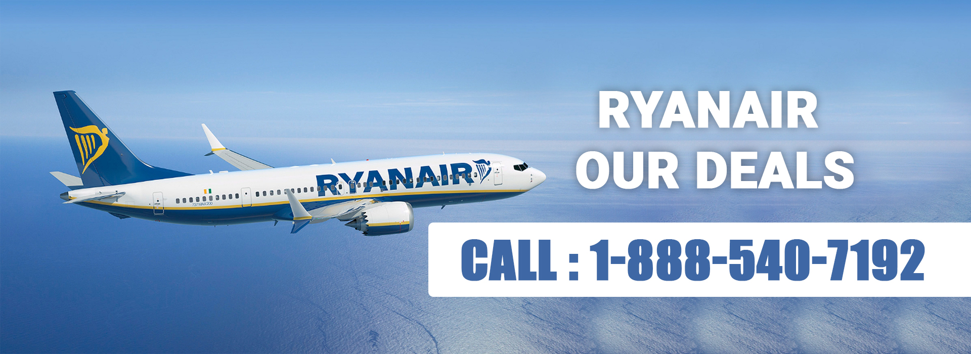 RyanAir Customer Service 1-888-540-7192