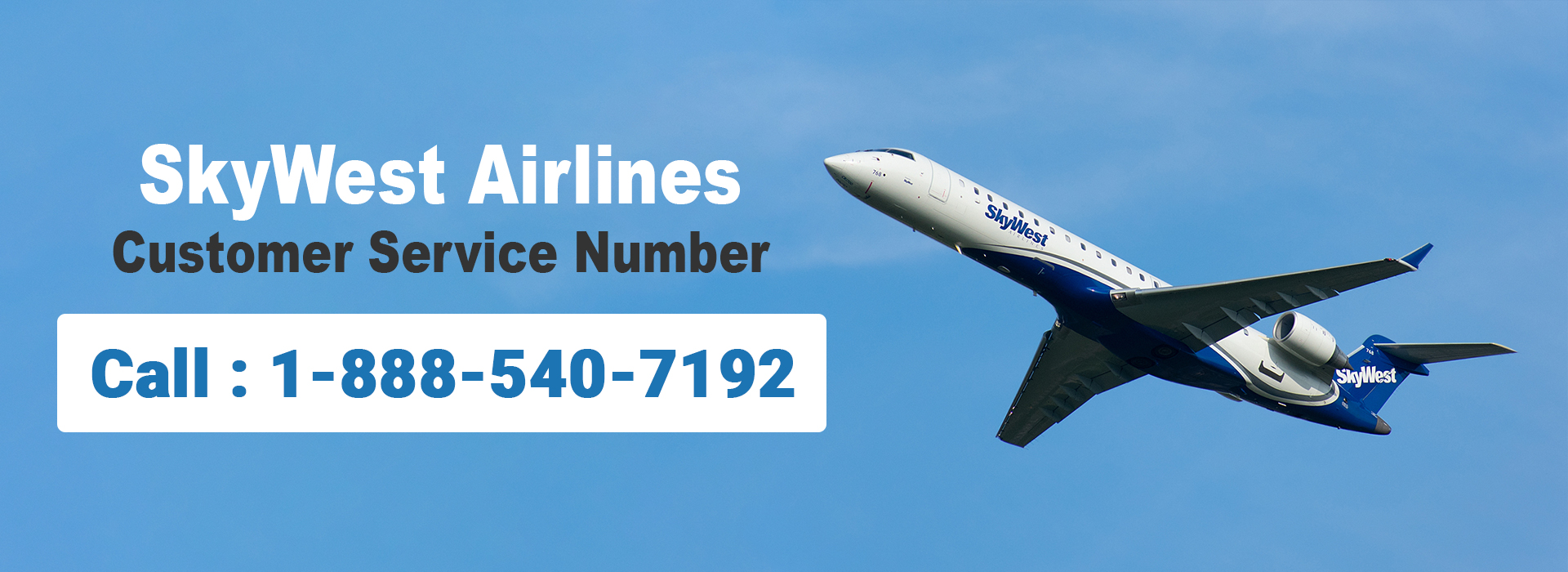 SkyWest Airlines Customer Service 1-888-540-7192