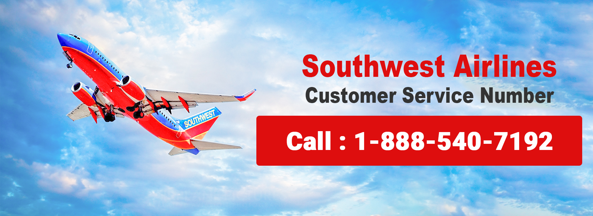 Southwest Airlines Customer Service 1-888-540-7192