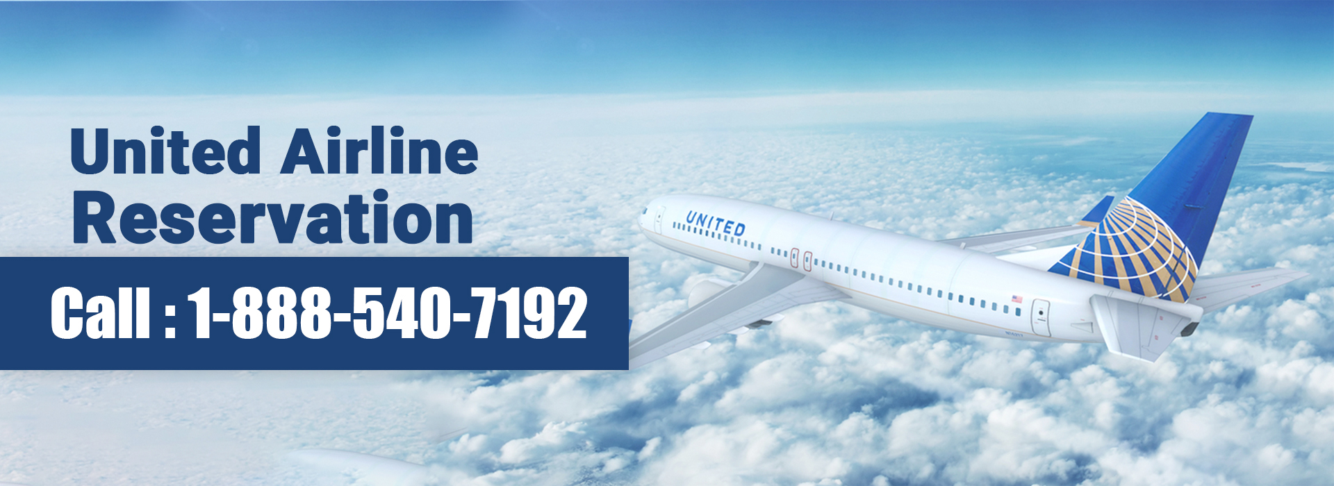 United Airline Reservation 1-888-540-7192